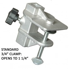 3/4ʺ Table Clamp - Standard