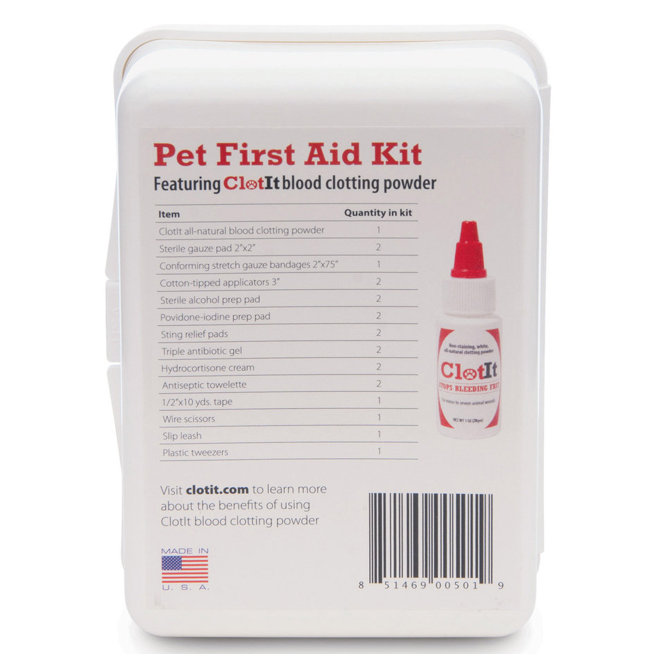 ClotIt® - Pet First Aid Kit