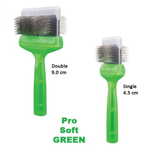 ActiVet Pro Soft Green Brushes