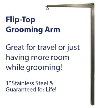 mobile grooming arm